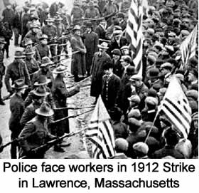 lawrence strike